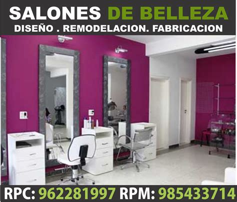 como decorar salon de belleza decoracion de salon de belleza economicas dise 209 o y