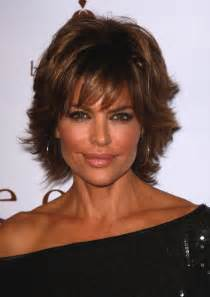 rinna tutorial for hair lisa rinna with short hair in layers long hairstyles