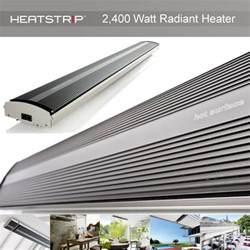 heatstrip 2400 watt radiant electric terrace and patio