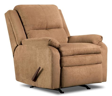 sears recliners furniture simmons upholstery 568 bixby rocker recliner chair