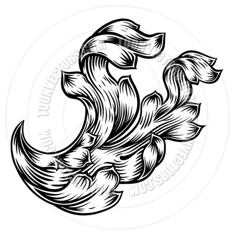 filigree clip art continue reading set of floral scroll floral filigree heraldry design by geoimages toon