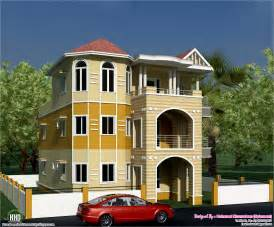3 storey house 3 storey south indian house design kerala home