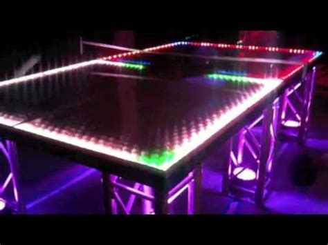 light up ping pong table lightup ping pong table interactiveparty com
