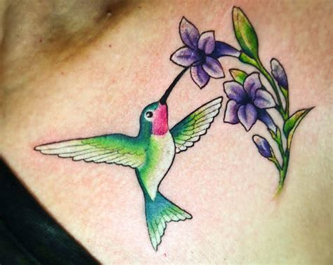 hummingbird with flower tattoo designs hummingbird images designs
