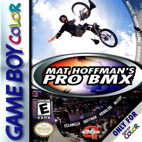 Mat Hoffman S Pro Bmx play mat hoffman s pro bmx nintendo boy color play retro at oldies