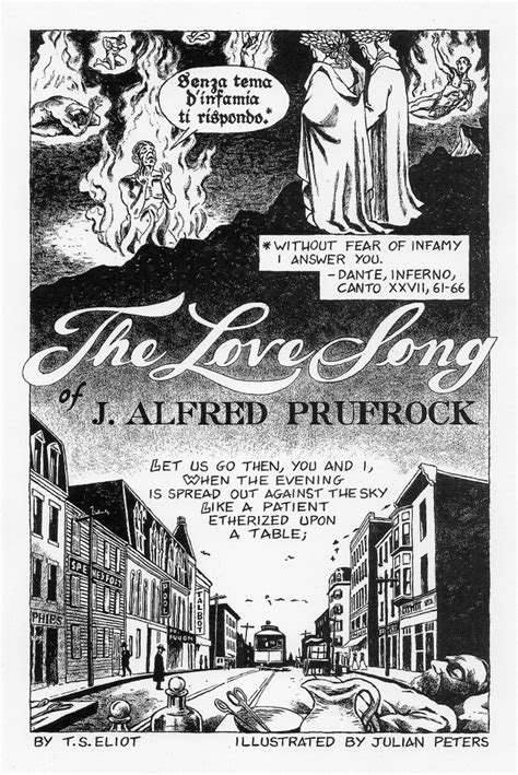 themes of the lovesong of j alfred prufrock the love song of j alfred prufrock by t s eliot julian