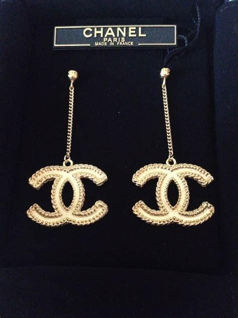 chanel earrings for sale chanel earrings large cc logo