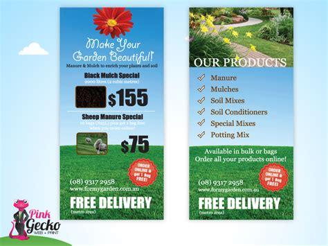 dl brochure template budget dl flyer printing pink gecko web print