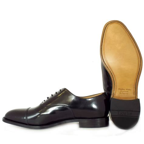 oxford style shoe loake shoes for loake 747 mens leather shoe from