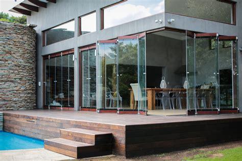 frameless glass exterior doors frameless folding doors contemporary exterior other