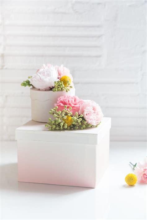 Flower Gift by Diy Fresh Flower Gift Boxes