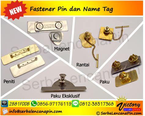 Lencana Pin Timbul fastener peniti paku magnet rantai serbalencanapin