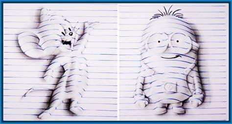 imagenes para dibujar a lapiz en 3d faciles como hacer dibujos en 3d faciles para ni 241 os archivos