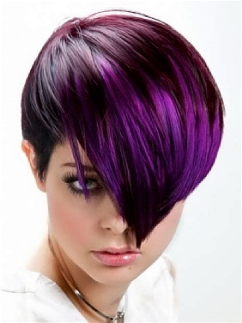 girl hairstyles purple black and purple hairstyles