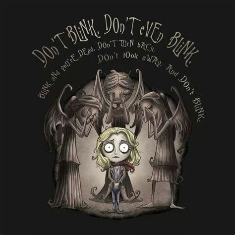 Don Burton Also Search For Don T Blink Tim Burton Style Doctor Who