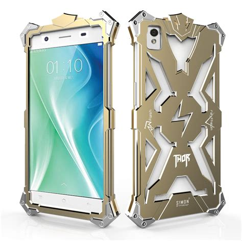 Promo Casing Hardcase Metallic Pipilu Oppo 3 Ori 1 oppo a51 original design armor doom metal al thor ironman mobile protect phone shell