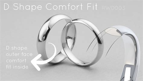 Comfort Fit by What Is A Low Dome Wedding Ring A Guide To Domed Wedding