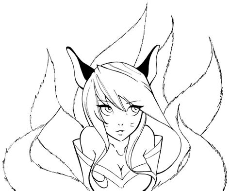 K Drawing Lol by Jinx League Of Legends Coloring Pages