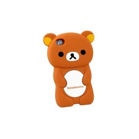 Rilakkuma Brown Iphone All Hp 3d brown rilakkuma silicon cover for