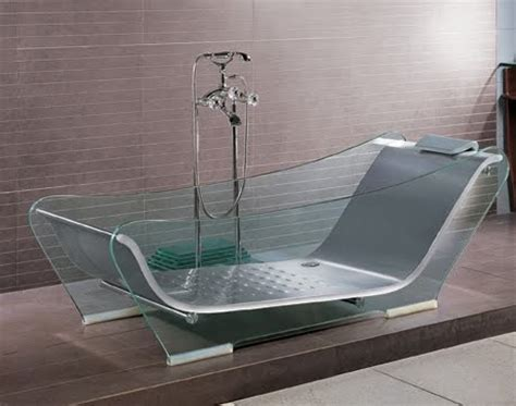 Glass For Bathtub by If It S Hip It S Here Archives Modern Glass Bathubs