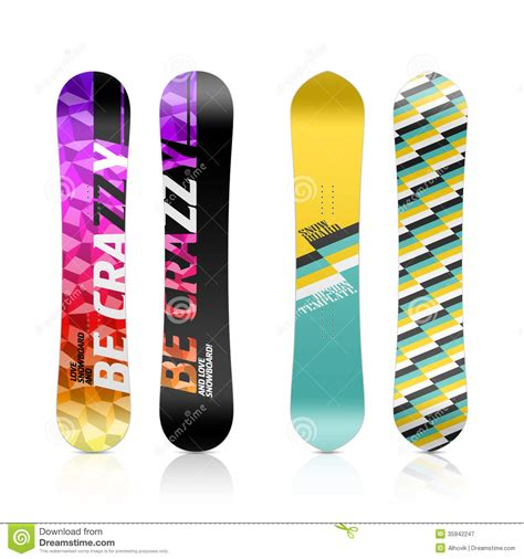 snowboard design template snowboard design stock image image of lifestyle outdoors