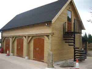 Garage Uk Two Storey Timber Garage Severn House