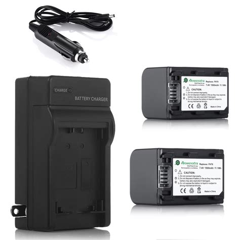 Battery Replacement For Sony Np Fh30 Np Fh40 Np Fh50 1050mah Hitam 2x np fh70 battery for sony handycam hdr hc9 dcr hc28 np