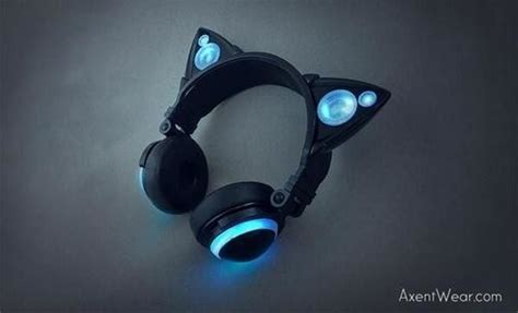 Headset Nekomimi cool nekomimi headphones are here with nekomimi loaded with speakers tokyo otaku