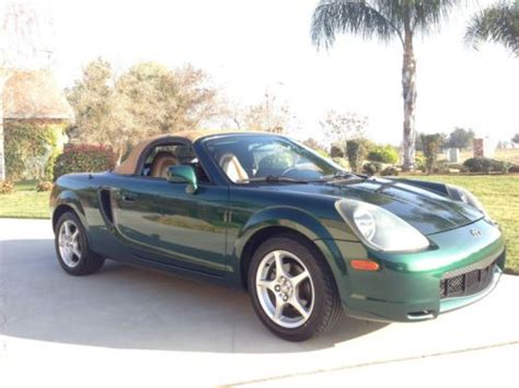 how cars run 2002 toyota mr2 navigation system sell used 2002 toyota mr2 spyder 87k mi w dvd navigation in fresno california united states