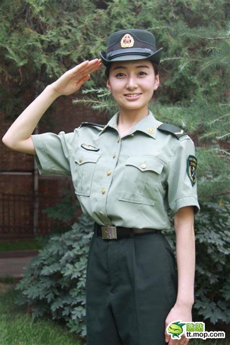 chinese military uniform girl the uniform girls pic china military uniform girls 020