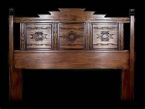 navajo headboard southwest furniture santa fe style southwest spanish craftsmen