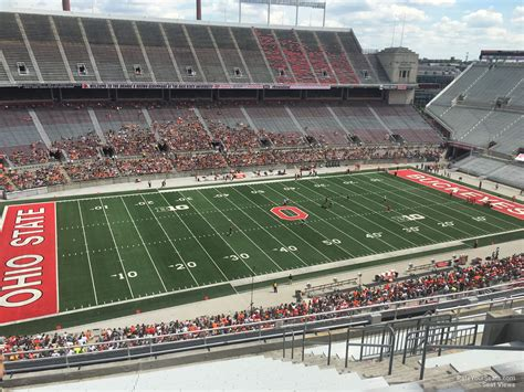 Section One Football by Ohio Stadium Section 15c Rateyourseats