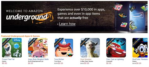 amazon underground app amazon underground replaces amazon appstore s free app of