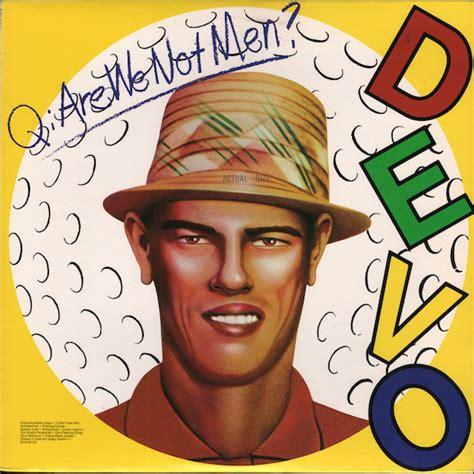Original Album Cover Totes By Rock Musick by Devo Q Are We Not A We Are Devo Vinyl Lp