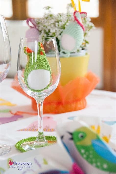 la tavola di pasqua la tavola di pasqua con conigli all uncinetto e uova