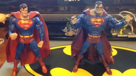 Superman Bizzaro Figure Superman And Bizarro S3 Sculpt Figure Review