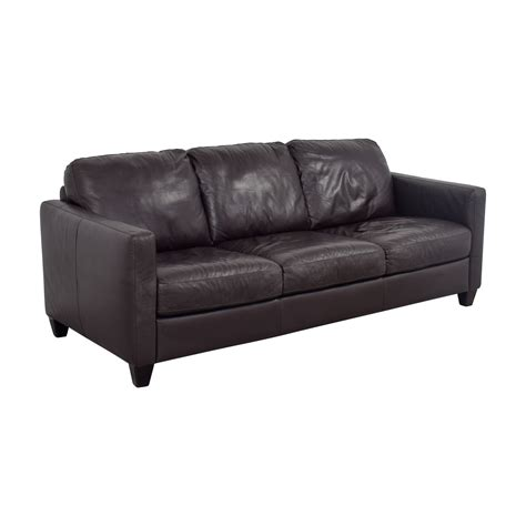 natuzzi brown leather sofa 79 natuzzi natuzzi brown leather three cushion
