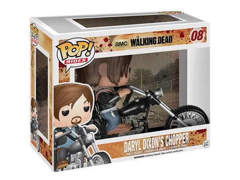 Funko Pop The Walking Daryl Dixon With Rocket Launcher Figure daryl dixon moto funko pop premium walking dead envio gratis 1 199 00 en mercado libre