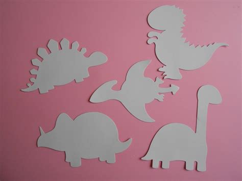 printable dinosaur shapes best photos of dinosaur shapes to cut out cut out