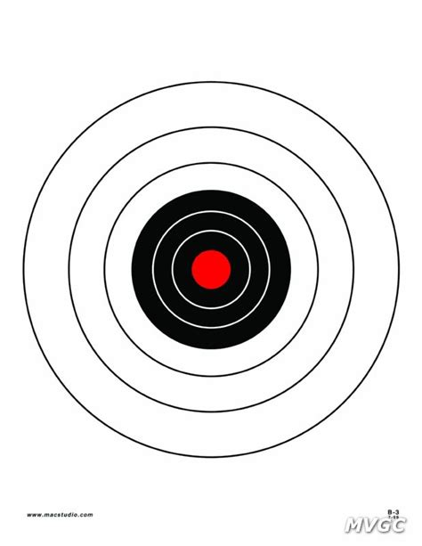 printable rifle pistol targets the gallery for gt printable shooting targets 8 5 x 11