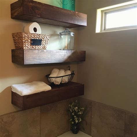 floating shelves in bathroom 24 bathroom shelves designs bathroom designs design