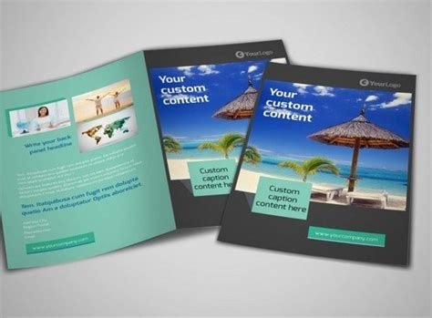 25 attractive travel tourism brochures templates web