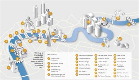 thames river cruise route map map thames tower bridge and tower of london london eye