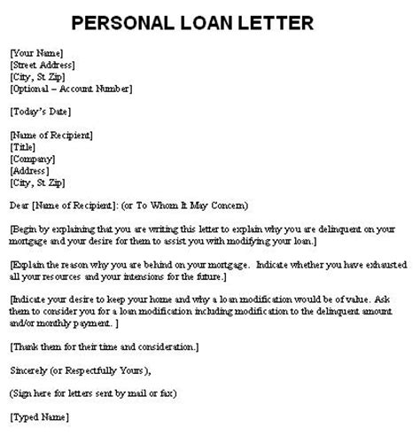 Loan Letter From A Friend Letters Free Sle Personal Loan Personal Letter Template Free Sle Exle Format And