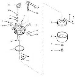 carburetor no 632410 diagram parts list for model ah6001627m tecumseh parts all products
