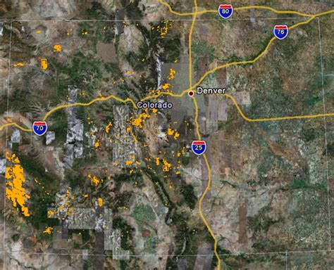 map of colorado gold prospecting maps noble mining