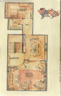 221b baker street floor plan the layout of the main level of the apartment imgur