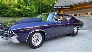 1969 chevrolet chevelle drag race car