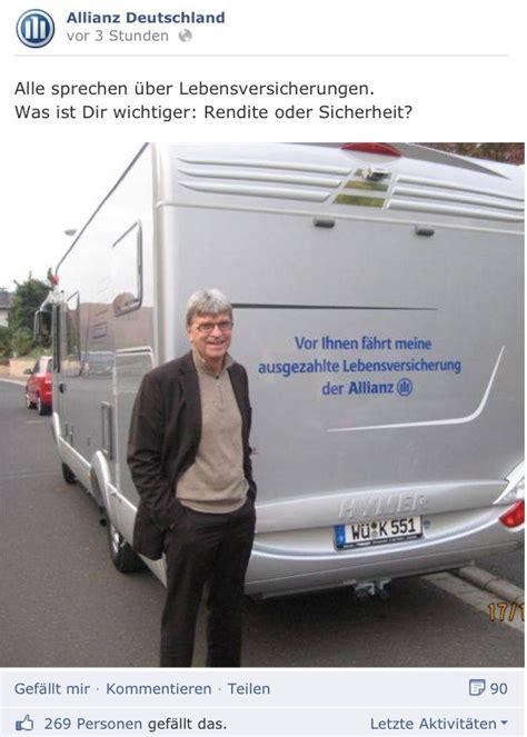 Allianz Unfall Melden by Die Fahrende Lebensversicherung Landshut Versicherungen
