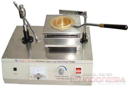 Termometer Digital Aspal alat penguji titik nyala aspal syd 3536 manual